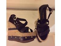 River Island Wedge Sandals Size 5