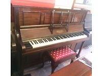 Rogers Upright Piano | Excellent Condition | Mahogany | Tuned| Free Delivery!