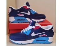 New Nike Air Max 90 Essential Running Shoes Trainer Sneakers Size: 9