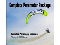 Complete Paramotor Package With Flying Lessons