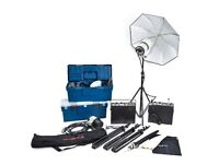Photographic Studio/Portable Flash Lights - Prolinca x4 Heads, Power Packs, etc