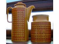 "Hornsea ""Saffron"" Pottery collection"