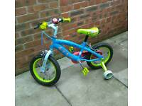 Child Toy Story bike with removable stabilisers. Excellent condition.