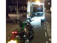 24Hr Motorcycle Recovery Transport / Impound Collection Delivery Motorbike Bike Scooter Breakdown