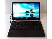HP Pavilion 15 HD Bright View Laptop PC in Mint Condition