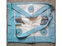 Vintage Toye Masonic Craftmaster Apron