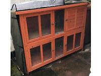 Bluebell Hideaway Hutch for Rabbits or Guinea Pigs