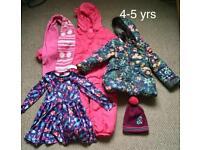 Girl's clothes bundle size 4-5 yrs (Next,M&S..)