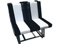 Rock and Roll Bed / Fitting Kit / Belts , Double stitched seams / Luxury backed Vinyl