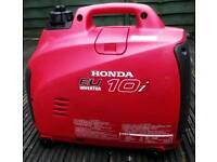 Honda EU 10i inverter generator power plant