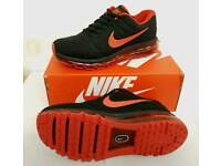 Nike airmax 2017 black red men's trainers 7 to 11