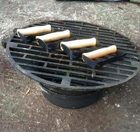 Cast Iron Barbecue