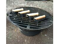 Cast Iron Barbecue