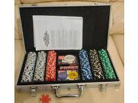 Poker Set in Aluminium case - 300 chip set