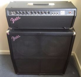 """Fender FM 100H Guitar Amp Head and 4x12"""" 100W Cabinet"""