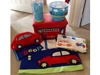 Little Boy Car Bedroom Set