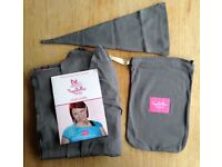 YogaBellies® UK Made Safety Certified Baby Sling Wrap | Super Soft 100% Organic Cotton Baby Wrap