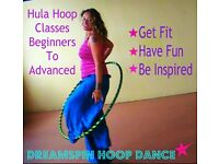 Hula Hoop For Beginners - 6 week course starts Monday January 9th