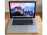 "MacBook Pro 15.4"" 2011 (16GB RAM) (750GB HARD DRIVE) intel core i7 + Ms office + more"