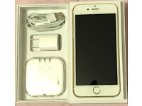 iPHONE 6 (64 GB) WHITE/GOLD