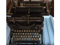 1915 USA Underwood typewriter would make a great display model for an office or restaurant