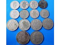 Queen Elizabeth II coins, 20p - £1 each