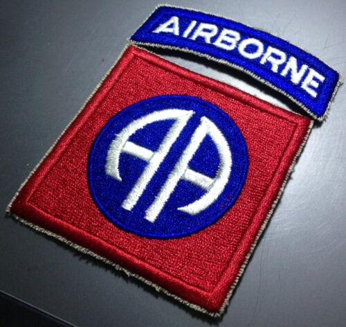 Vietnam Era 82nd Airborne Division Cut Edge Patch (1968~1969)