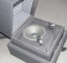 HOME STUDIO/THEATRE GUITAR ISOLATION CHAMBER. LOUDSPEAKER ENCLOSURE