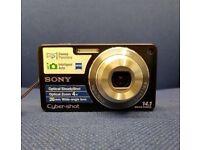 SONY CYBERSHOT DSC-W350 DIGITAL CAMERA WITH RECEIPT