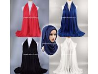 MAXI Cotton Jersey Long Stretchy Scarf Shawl Ladies HIGH QUALITY Hijab 180x85