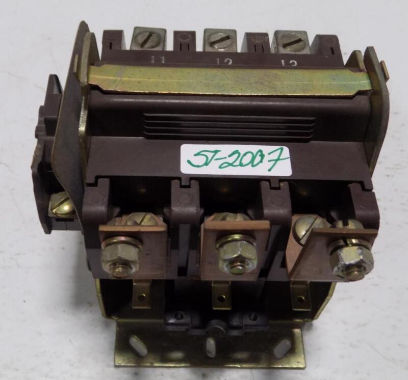 JOSLYN CLARK 75A 600V CONTACTOR A77-288520A-138