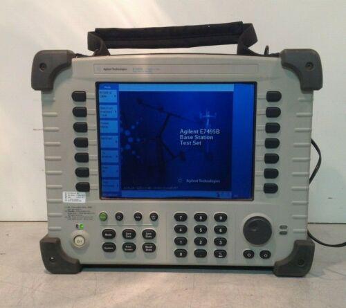 AGILENT E7495B BASE STATION TEST SET 10 MHz-2.7 GHz OPT 200, 205, 510, 600