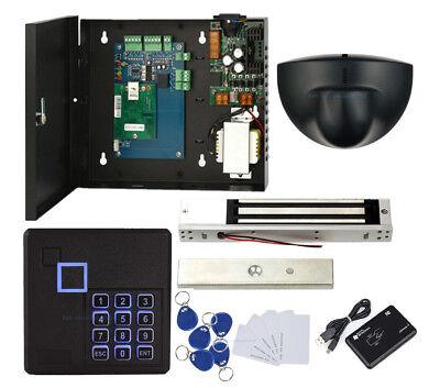 Single Door Access Control System Kit Keypad Reader+Exit Motion Sensor+ Mag Lock