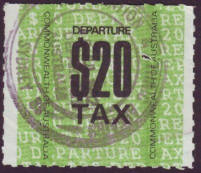 $20 DEPARTURE TAX STAMP (SYDNEY AIRPORT) (Departures Sydney)