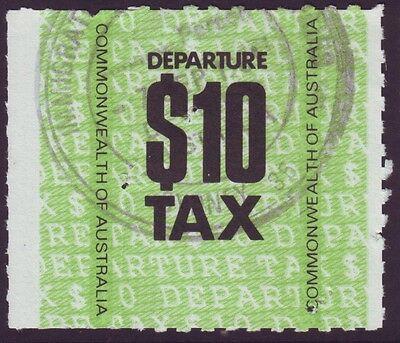 $10 DEPARTURE TAX STAMP (SYDNEY AIRPORT) (Departures Sydney)