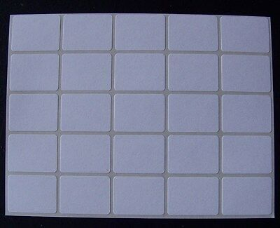 "200 All Purpose Removable Adhesive Price Labels Tags Stickers Square ¾""x1"""
