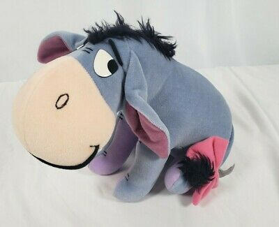 "Disney Mattel Winnie The Pooh Eeyore 10"" Plush Animal Toy"