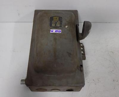 Square D 30amp Heavy Duty Industrial Switch A85341