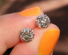 1/2 ct 50pt diamond studs $699 Midvale Mundaring Area Preview