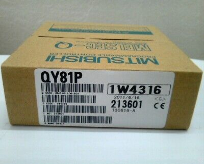 Mitsubishi Melsec-q Series Output Module Qy81p Original New In Box Free Ship