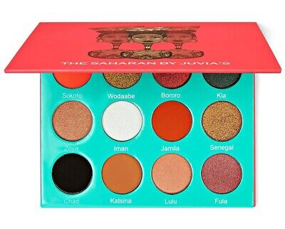 Juvia's Place The Saharan Eyeshadow Pressed Pigment Palette (New) RRP: £24