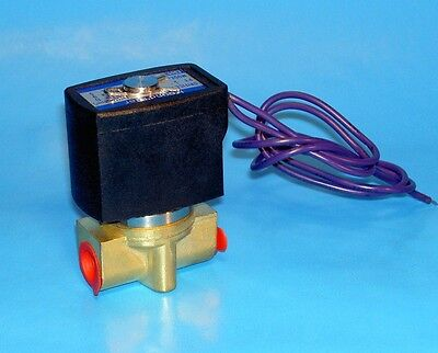 14 Electric Solenoid Valve - 24 Volt Dc  Normally Closed Operation
