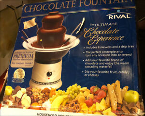 Rival Chocolate Fountain (CFF5) extra large