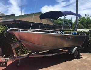 2013 Bluefin 16ft Custom Open Boat. Yamaha 60hp 4-Stroke Tiller Dunsborough Busselton Area Preview