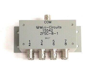 Mini Circuits Zfsc-8-1 8 Way Bnc Power Splitter Combiner .5 Mhz To 175 Mhz
