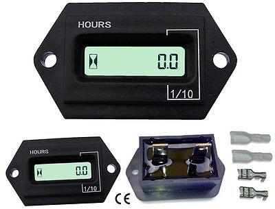 Stunden Timer (digitaler Betriebsstundenzähler wasserdicht Baumaschine Traktor Oldtimer)