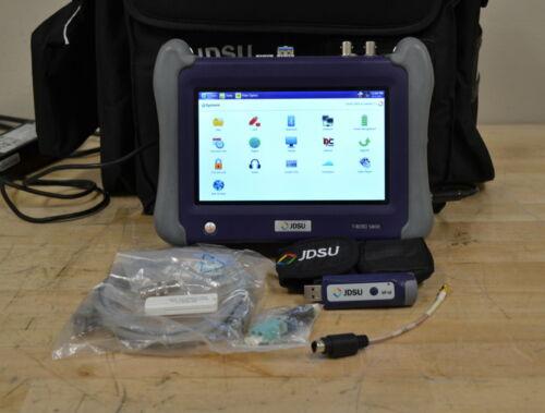 JDSU Viavi 5822P Handheld Network Tester w/4146QUAD OTDR, LOADED w/Options GOOD