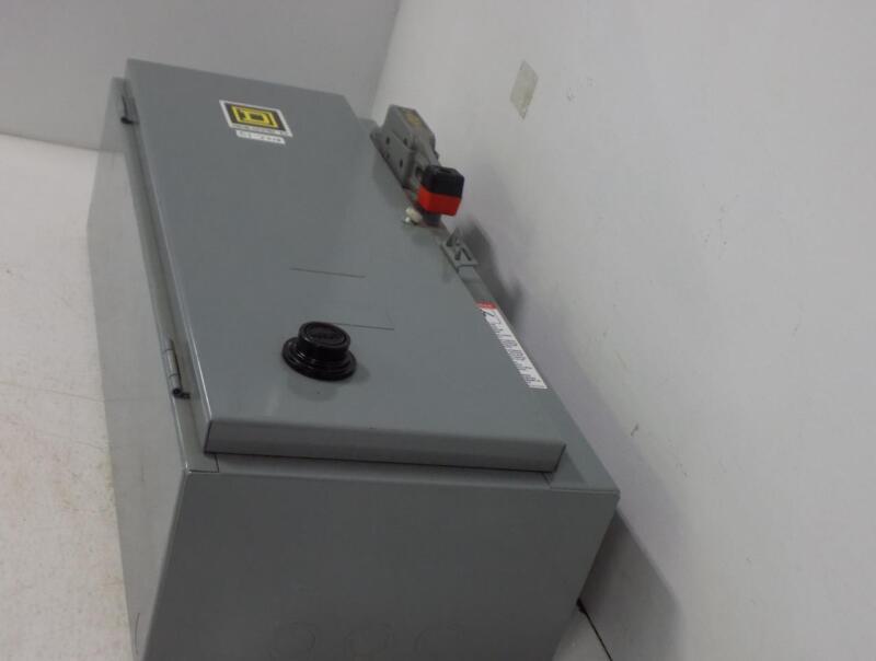 SQUARE D STARTER MOTOR CONTROL 30AMP TYPE 1 8538SBG12V01S NNB