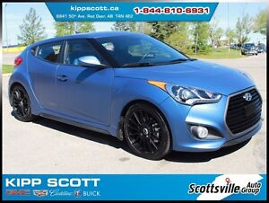 2016 Hyundai Veloster Rally Edition, Leather, 6-Speed, LOW KM!