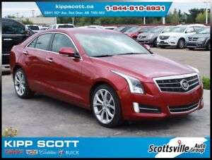2014 Cadillac ATS 2.0T Performance AWD, Leather, Sunroof, Nav